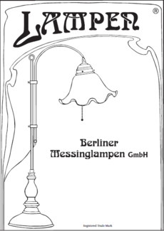 BERLINER MESSINGLAMPEN katalog 2014