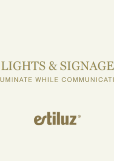ESTILUZ LIGHT AND SIGNAGE brožura 2020