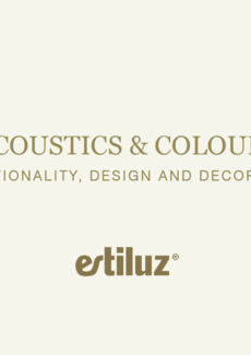 ESTILUZ ACOUSTICS AND COLOURS brožura 2020