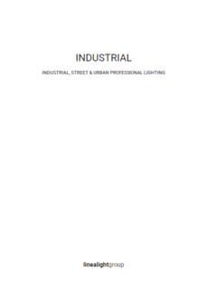 LINEA LIGHT i-LED INDUSTRIAL katalog 2020